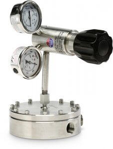 Photo of General Service Series Back Pressure Regulator to manually control