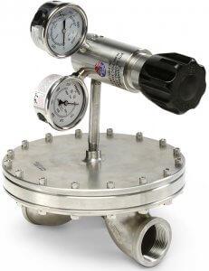 photo of BD12 / BD16 / BD24 / BD32 BD Series back pressure regulator