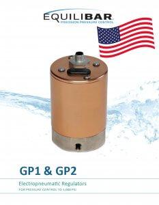 photo of cover of english gp electronic pressure regulator brochure
