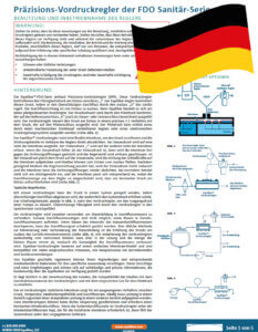 photo of Cover FD Series Installation and Maintenance Guide (German)