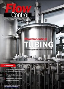 2019 March Issue of FLow Control Magazine, featuring Equilibar and PCS