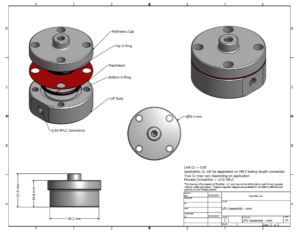 LVF assembly Metric cover