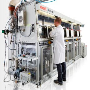 Photo of Fully-automated 6-parallel multimodal polyolefins unit