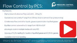 New video summary card: Flow control & Small Delta-P